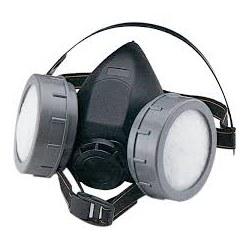 ΜΑΣΚΑ Αναπνοής μισού προσώπου δύο φίλτρων RM-672