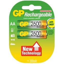 Επαναφορτιζόμενες μπαταρίες AA 2600mAh 1.2V