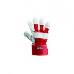 Γάντια UN 104 δερματοπάνινα από δέρμα μόσχου