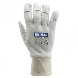 Γάντια από δέρμα κατσίκας και ύφασμα