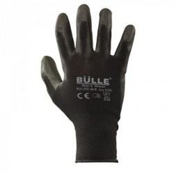 Γάντια Πολυουρεθάνης Μαύρα