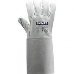 Γάντια Ηλεκτροσυγκόλλησης UN 502 TIG με παλάμη και ράχη από δέρμα κατσίκας