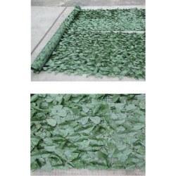 Φράκτης με πλέγμα φυλλωσιάς πράσινος 3x1m BPN1200